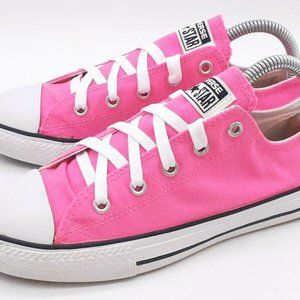 Converse All Star Girl's Sneakers Low Tops Pink 3Y